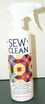 Sew Clean Spot Remover - Longarm Quilting Supplies