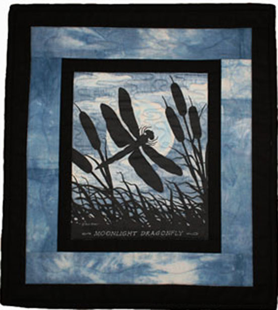 Sample wall hanging of the Art Prints on Fabric