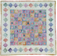 Show Pin Quilt Kit - Memory Lane - Quilt Kits - Show Pin Quilt Kits - Fabric - Hand Dyes
