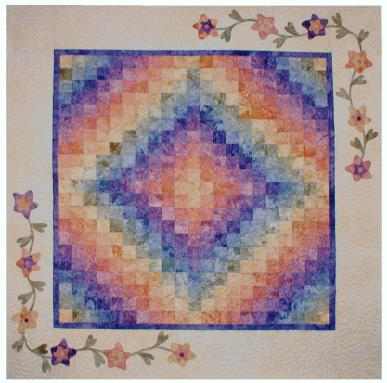 Trip Down Memory Lane Quilt Kit - Quilt Kits - Trip Around The World Quilt Kits - Fabric - Hand Dyes