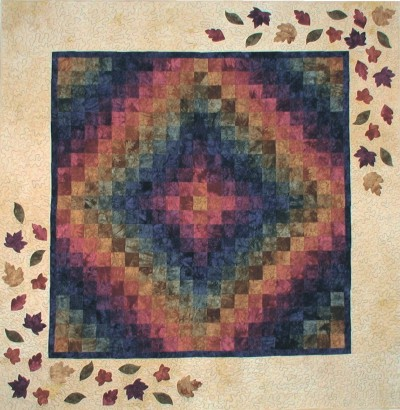 Trip To New England Quilt Kit - Quilt Kits - Trip Around The World Quilt Kits - Fabric - Hand Dyes