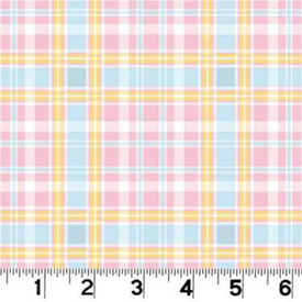 Click for Larger image of Hemstitching - Bear / Stars - R44 M775 226D - Coordinate Plaid