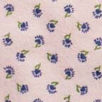 Click for Larger image of Hemstitching - Sleepyhead - Y0152-2 - Tiny Flowers - Pink Background