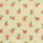Click for Larger image of Hemstitching - Sleepyhead - Y0152-1 - Tiny Flowers - Yellow Background
