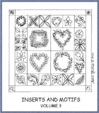 Inserts & Motifs Volume 3 - Diana Phillips - Quilt Book