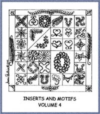 Inserts & Motifs Volume 4 - Diana Phillips - Quilt Book
