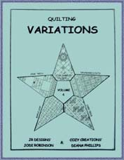Variations Volume 4 - Diana Phillips - Quilt Book