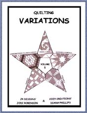 Variations Volume 5 - Diana Phillips - Quilt Book