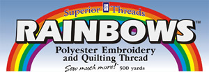 Superior Rainbows Threads for Longarm Quilting Supplies